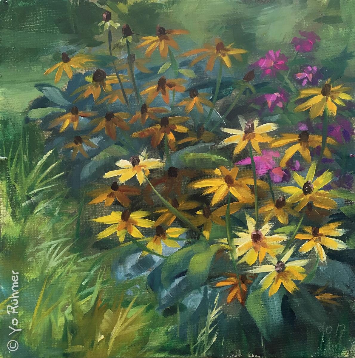 Sommerblumen_oelbild
