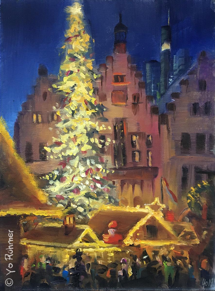 frankfurter_weihnachtsmarkt_oelbild