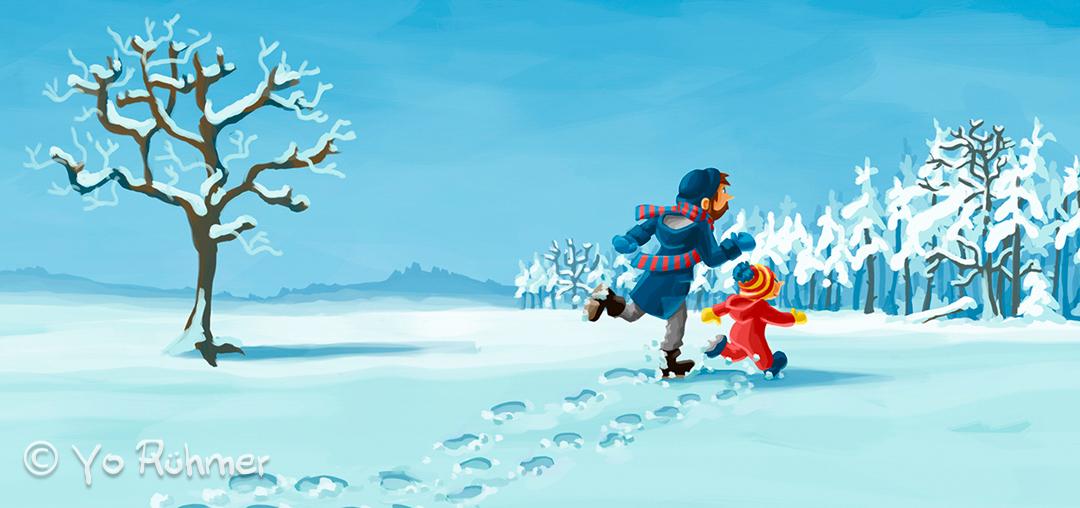 Winterwald_Pappbilderbuch_Schnee