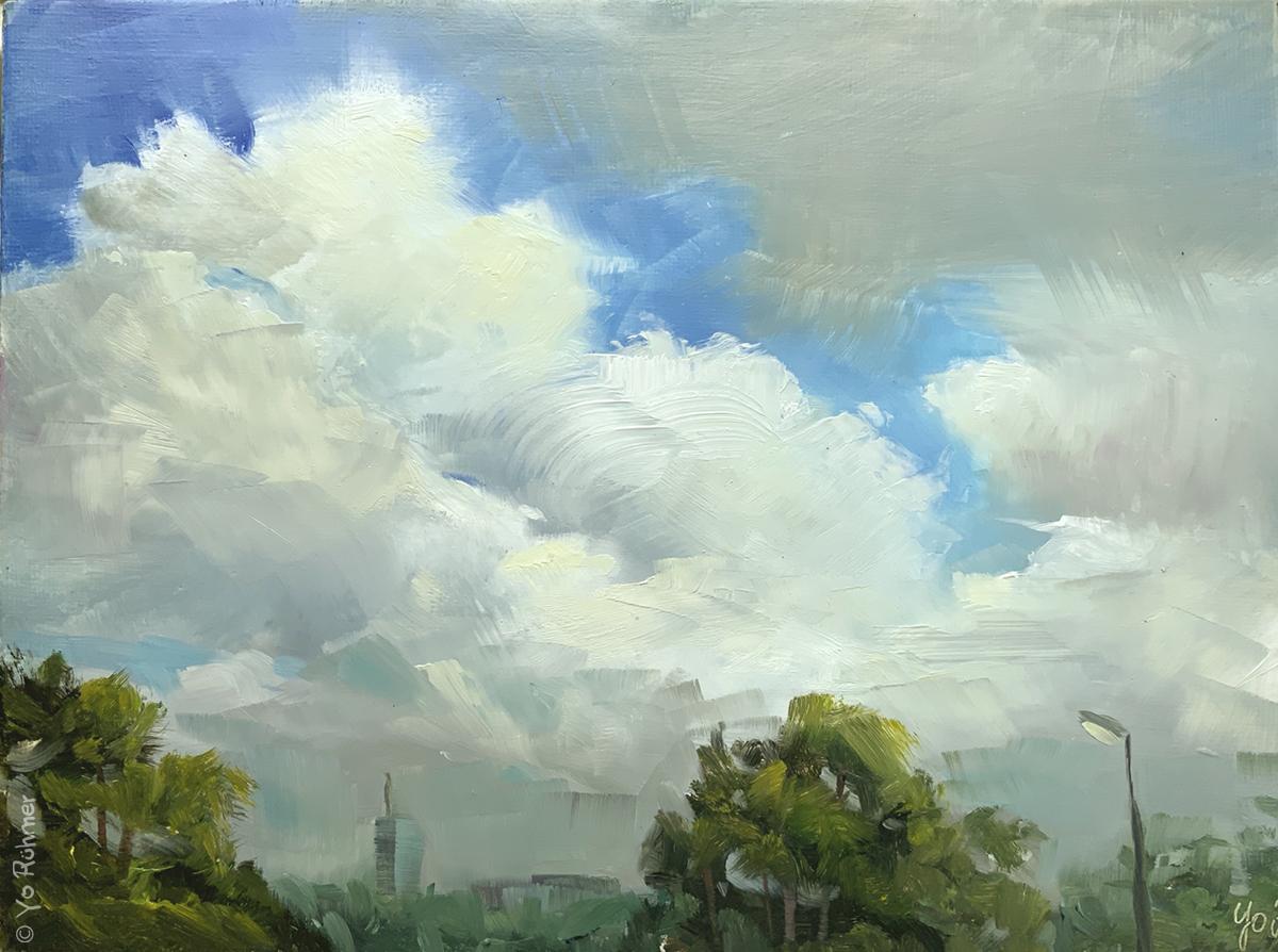 Wolken_Ölbild