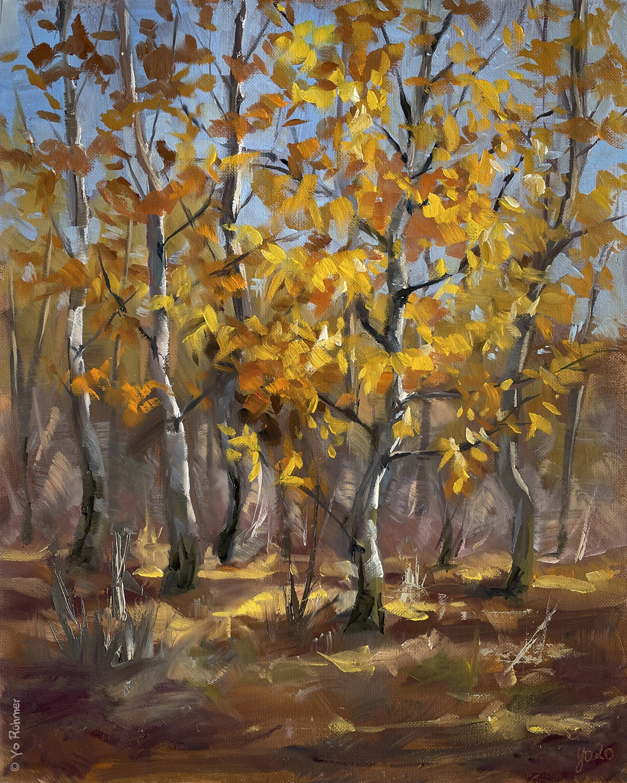 Espenbäume_Ölbild