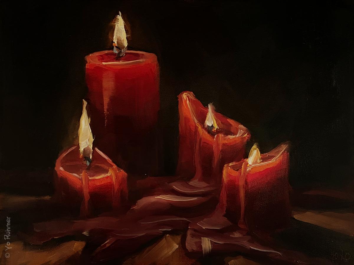 Kerzengemälde