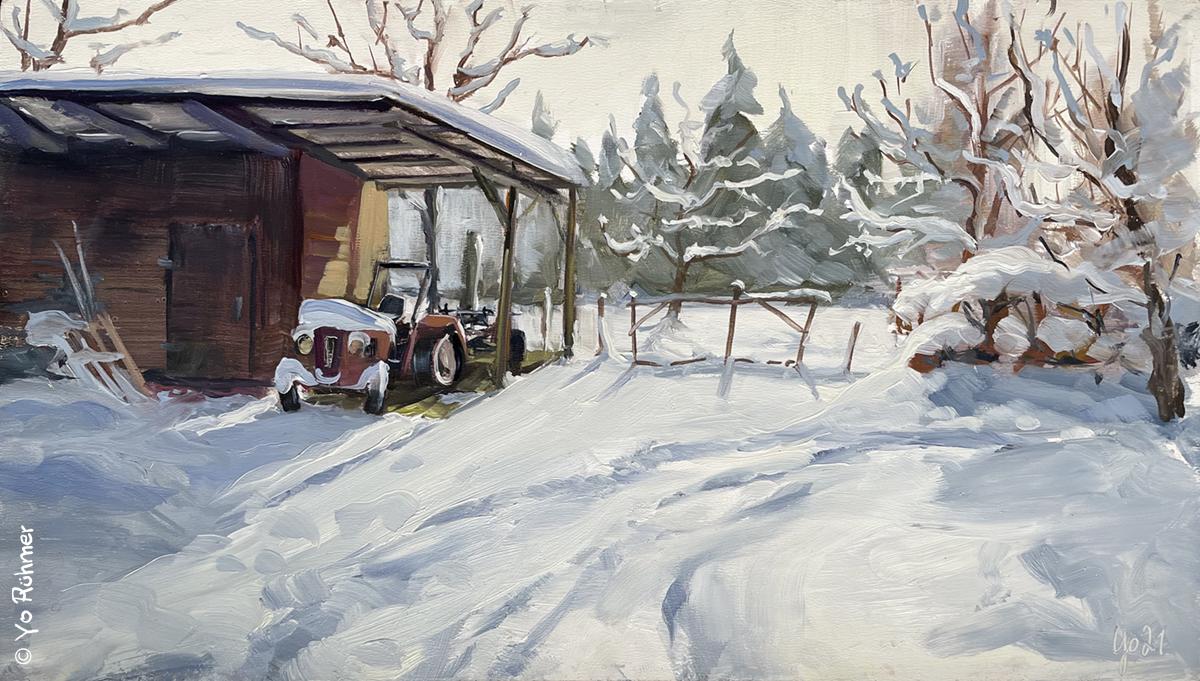 Winter_Ölbild
