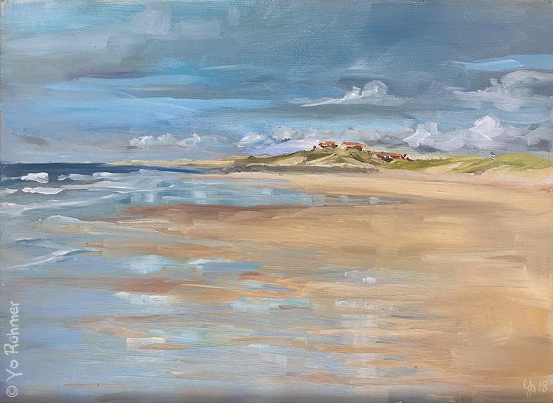 contis plage peinture