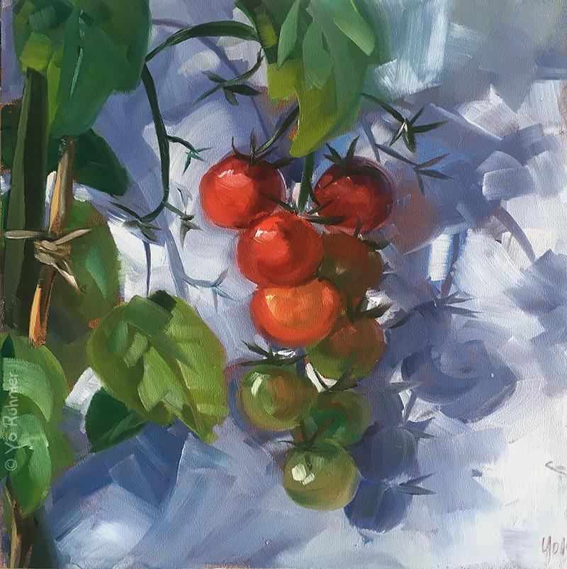 Tomaten Ölbild