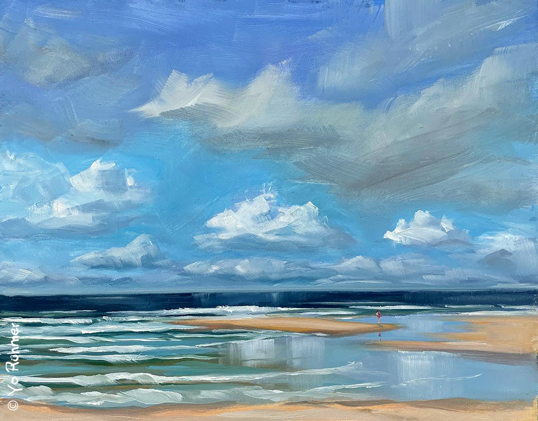 Atlantikueste-oelbild-pleinairmalerei-919